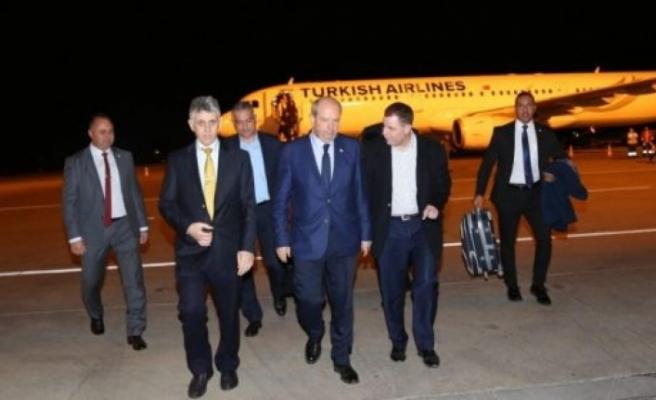 Başbakan İstanbul'dan döndü