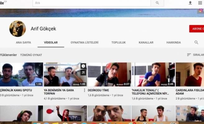Cinayet zanlısı Youtuber çıktı