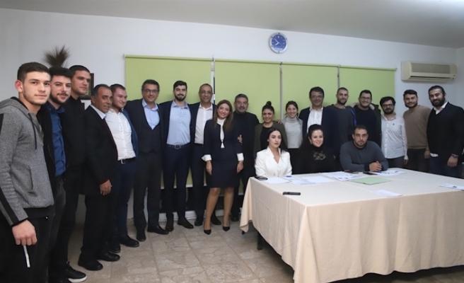 CTP Lefkoşa Gençlik Örgütü Başkanı Ali Çakmak
