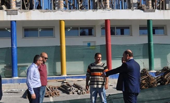 Değirmenlik Belediyesinden, Cihangir-Düzova İlkokulu'nu 2 yeni derslik