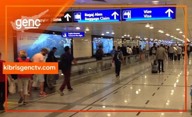 Ercan'dan fazla parayla çıkmak isteyen yolcuya yasal işlem