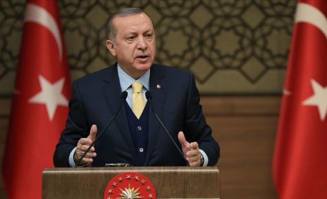 """Erdoğan: """"Doğu Akdeniz konusunda gereğini anında yaparız"""""""
