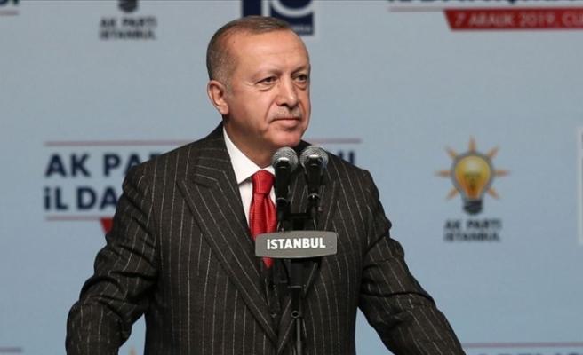 """Erdoğan: """"Uluslararası hukuktan doğan haklarımız neyse sonuna kadar kullanacağız"""""""