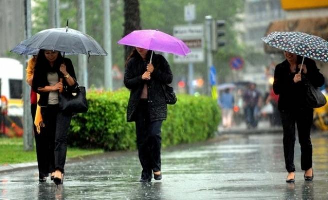 Hafta boyunca yağmur var