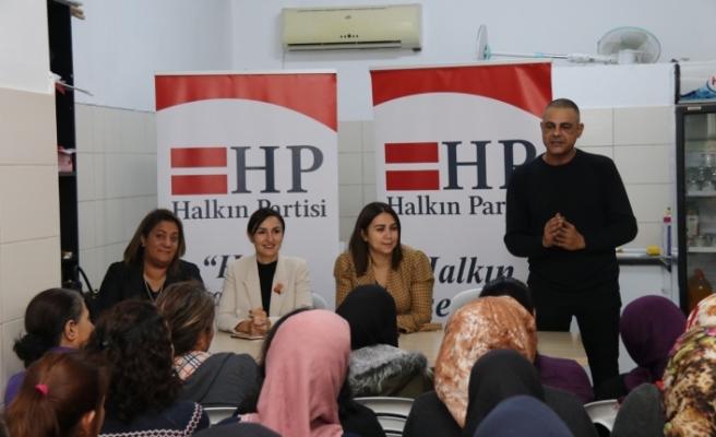 HP'den Surlariçi bölgesi kadınlarıyla buluşma etkinliği