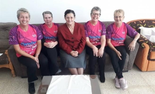 Kanser Hastalarına Yardım Derneği'ne katkı