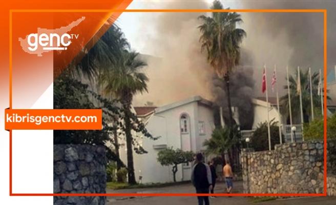LA Otel'de yangın...1 otel müşterisi hayatını kaybetti