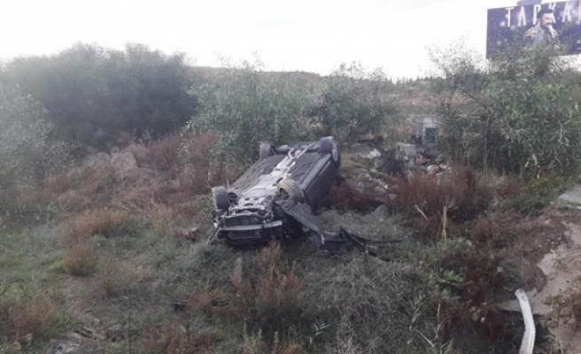 Lefkoşa- Girne Anayolu'nda kaza