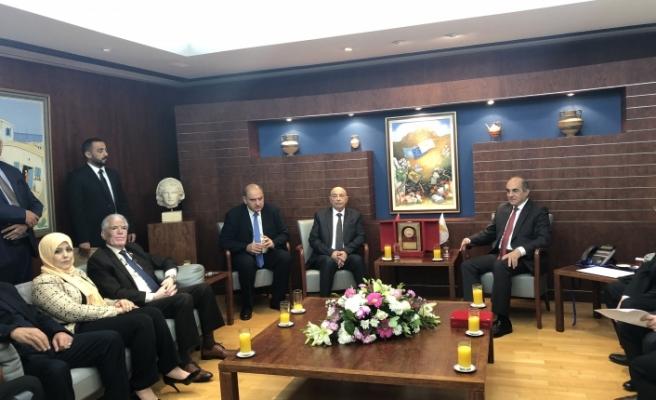 Libya ayrılıkçı Temsilciler Meclisi Başkanı'ndan Güney Kıbrıs'a ziyaret