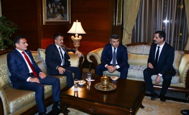 Oğuz, Türkiye ve Azerbaycan Tarım Bakanları ile görüştü