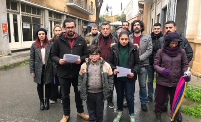 Rum Yönetimi'ne protesto