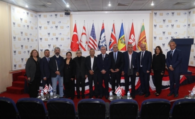 """""""Şehirlerin Sürdürülebilirliğinde Yükseköğretimin Önemi- Girne Bölgesi"""" konulu panel ,gerçekleşti"""