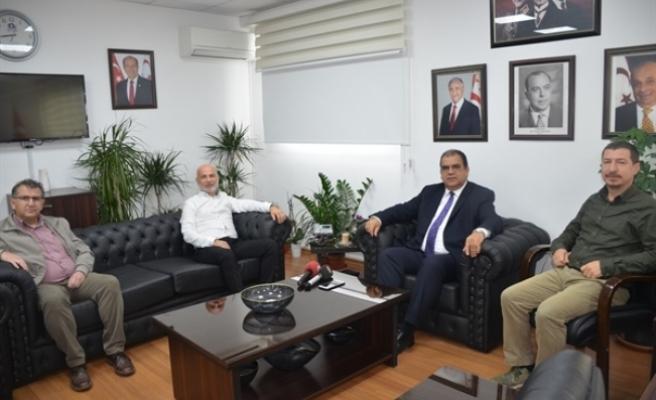Sucuoğlu, Serbest Çalışan Hekimleri Birliği ile görüştü