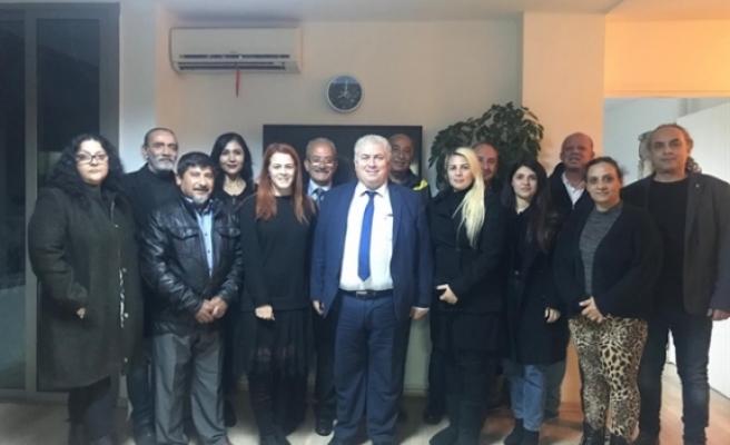 TKP-YG Lefkoşa ilçe başkanlığına Ayşe Buran seçildi