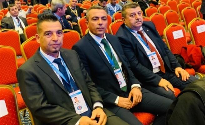 Türk İş Genel Kuruluna KKTC'den temsilciler katıldı