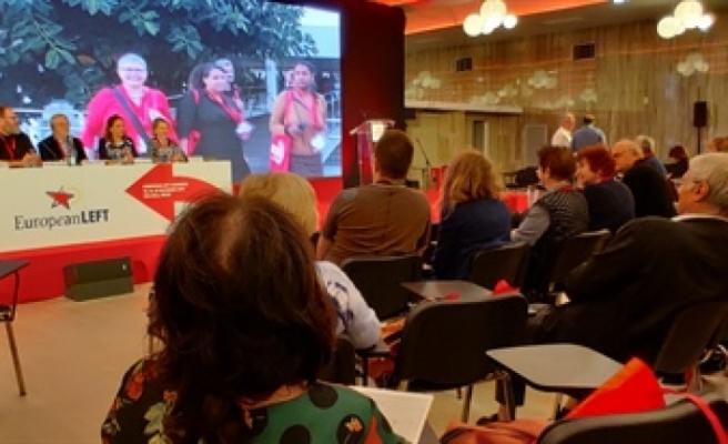 YKP, Avrupa sol parti 6. kongresi'nde temsil edildi