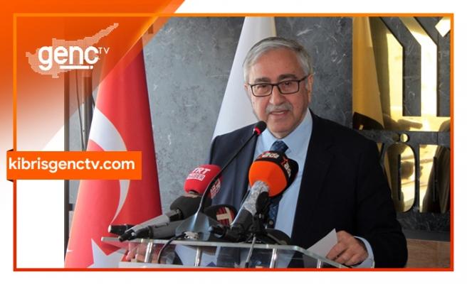 """Akıncı: """"Diplomasiye en çok ihtiyaç duyulan alan Doğu Akdeniz"""""""