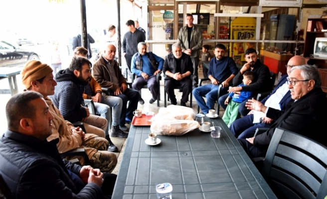 Akıncı, Kayalar, Geçitköy ve Dağyolu'ndaydı