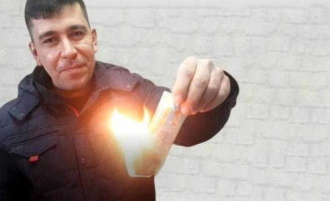 Asgari ücretli işçi, 20 bin lira isabet eden Milli Piyango biletini haram diye yaktı