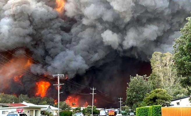 """""""Avustralya'daki yangınlar hava sıcaklığını düşürebilir"""""""