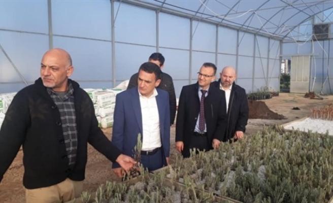 Bakan Oğuz, Türkmenköy İstasyonu'nu ziyaret etti