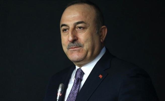 """Çavuşoğlu: """"Doğu Akdeniz'de çözümün tek seçeneği var"""""""