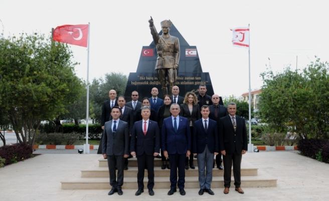 Çavuşoğlu, Sivil Savunma Teşkilatı Başkanlığı'nı ziyaret etti