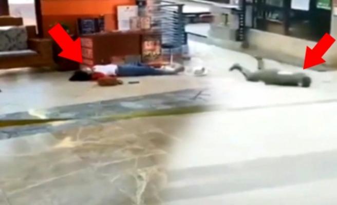 Çin'de koronavirüsüne yakalanmış insanların yere yığılma görüntüleri dehşete düşürdü