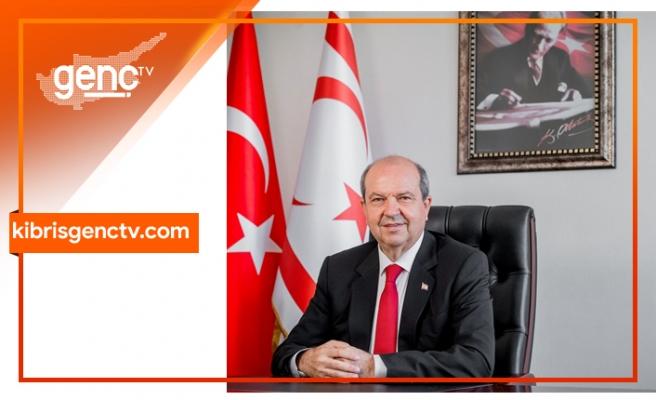 """""""Doğu Akdeniz'de Kıbrıs Türkü ve Türkiye'yi yok sayan her hangi bir proje , plan, hayalden öteye gidemez"""""""
