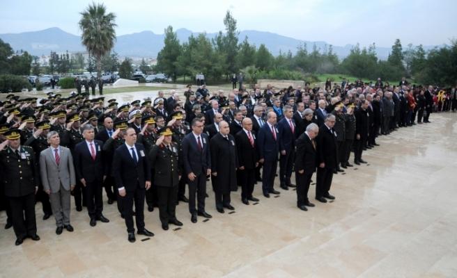Dr. Küçük, Anıttepe'de düzenlenen törenle anıldı