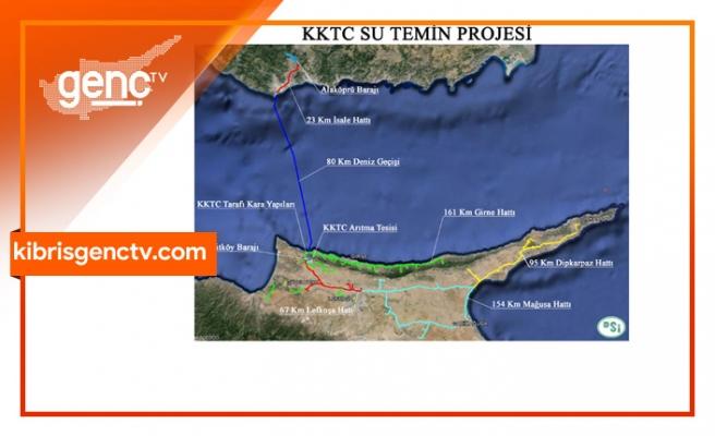 DSİ: KKTC Su Temin Projesi'ndeki arıza teknik sebeplerden kaynaklandı