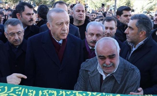 """Erdoğan: """"Geçmişten bu yana birçok depremler yaşadık ama bu millet sabırla bunları aşmasını bildi"""""""