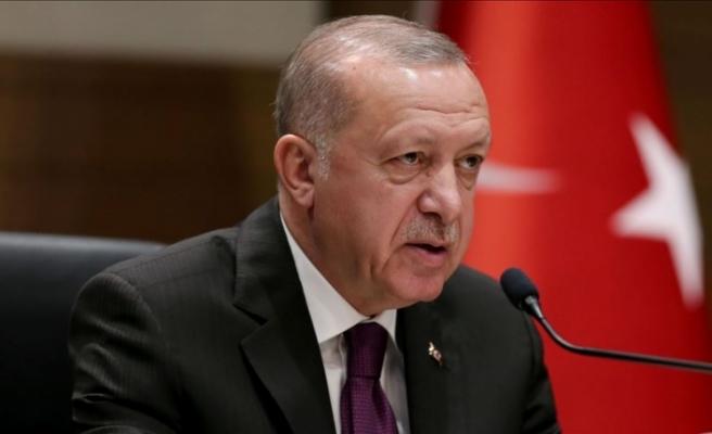 Erdoğan: Haklarımızı korumak için sonuna kadar mücadele edeceğiz
