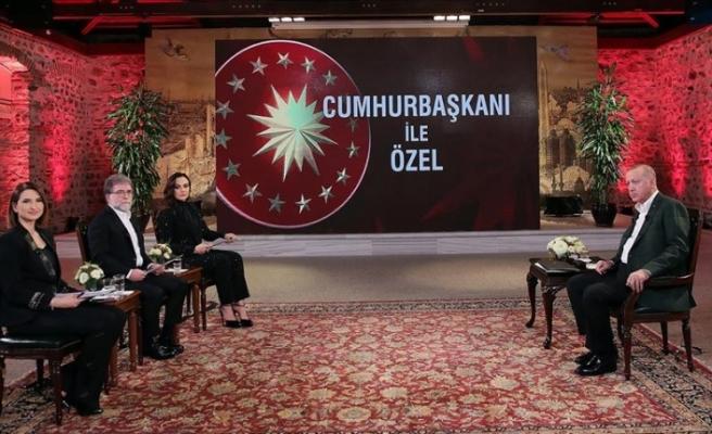 """Erdoğan: """"Yunan ve Rum ikilisinin bizi Akdeniz'e hapsetme planları bozuldu"""""""