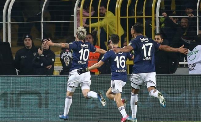 Fenerbahçe seriyi sürdürdü
