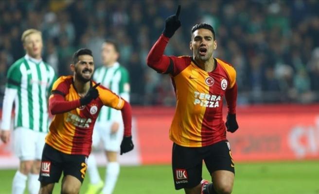Galatasaray'dan  Konya deplasmanında 3 puan