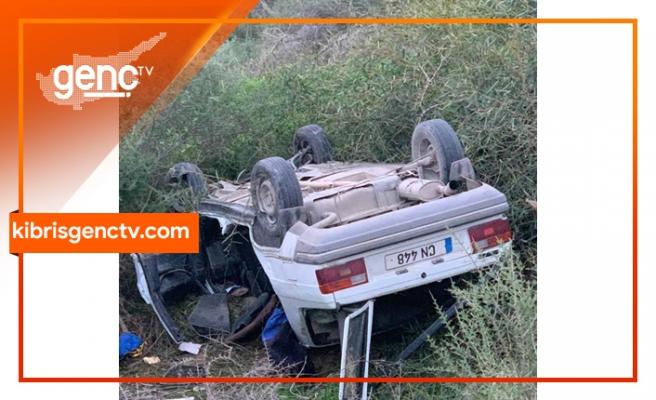 Girne - Alsancak çevre yolundaki trafik çarpışmasında yaralanan Hasan Şafak Yetken yaşamını yitirdi