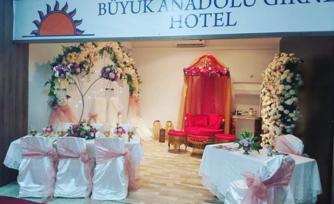 Girne Büyük Anadolu Otel, fuardaki yerini aldı