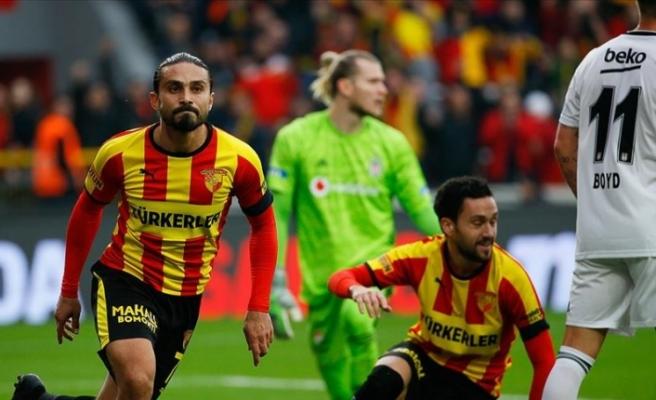 Göztepe, yeni stadının açılış maçında Beşiktaş'ı devirdi