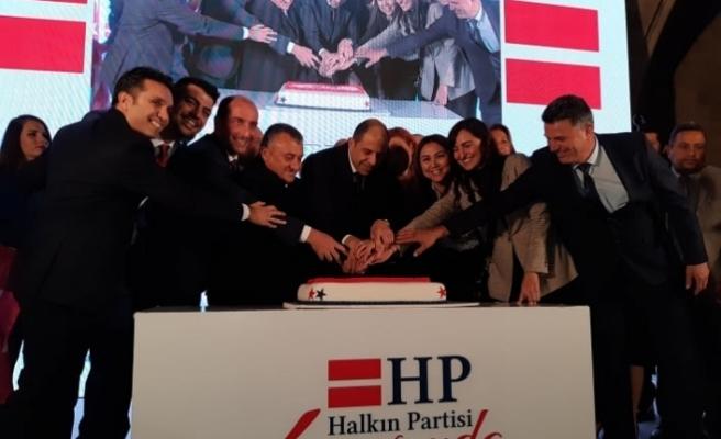 Halkın Partisi'nden 4'üncü kuruluş yıldönümü resepsiyonu