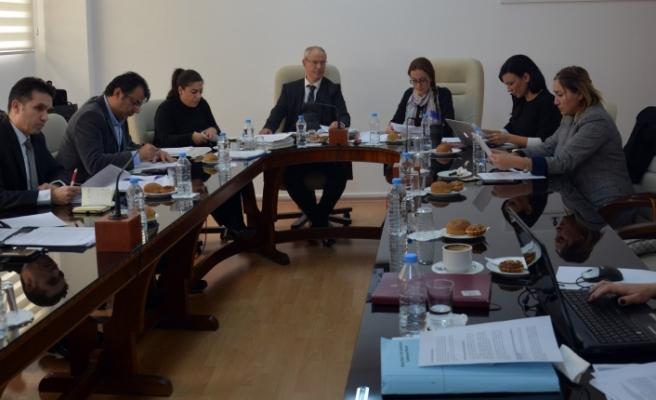 Hukuk Komitesi toplandı