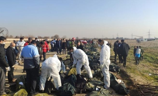 İran'da düşen yolcu uçağı - Tahran yönetimi: Ukrayna uçağını füzeyle düşürdüğümüz iddiaları asılsız