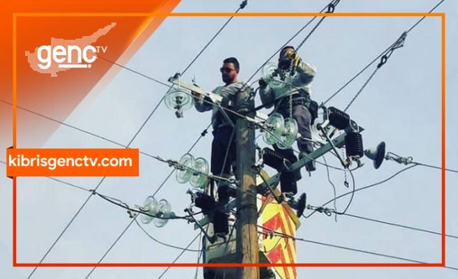 İskele bölgesine bağlı bazı yerleşim birimlerine elektrik verilemeyecek