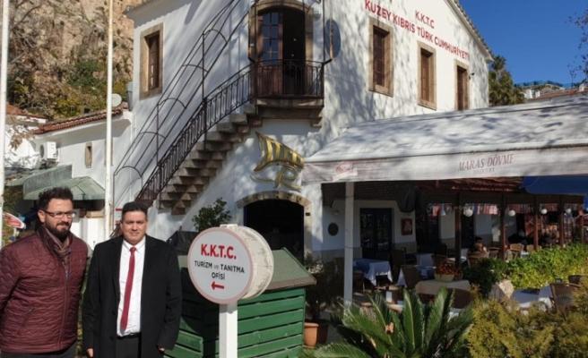 Kültür Dairesi Müdürü'nden  Kıbrıs Kültür Evi'ne ziyaret