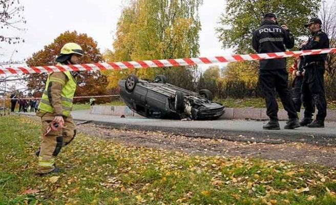 Norveç'in başkenti Oslo'da 2019 yılında trafik kazasında toplamda 1 kişi öldü