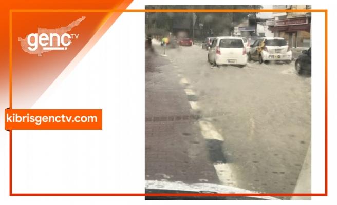 Ortaköy'den hastane gidiş yönü trafik akışına kapatılmıştır