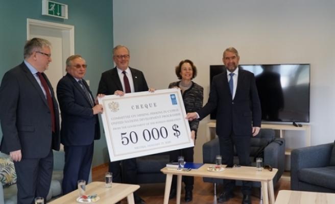 Rusya Federasyonundan Kayıp Şahıslar Komitesine bağış