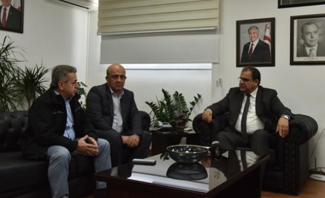 Sucuoğlu, İyi Toplum Gönüllüleri Derneğini kabul etti