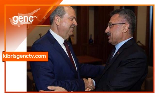 Tatar, Fuat Oktay ile görüştü
