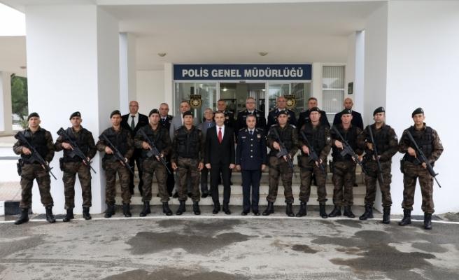 Uluçay'dan  Polis Genel Müdürü Manavoğlu'na ziyaret